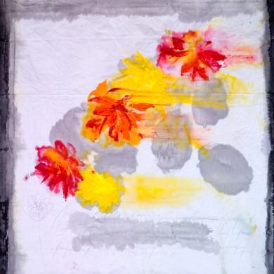 Anna Couderc. Curso de pintura sobre tela en Sabadell