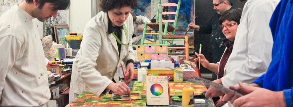 Escuela de fotografía pintura y restauración en Sabadell